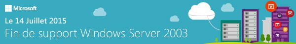 Fin de support Windows Server 2003