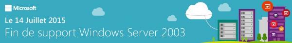 Fin de support Windows Server 2003